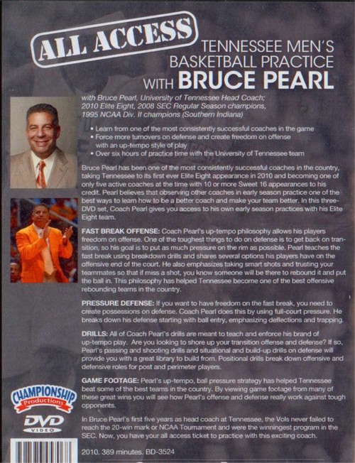 (Rental)-All Access: Bruce Pearl