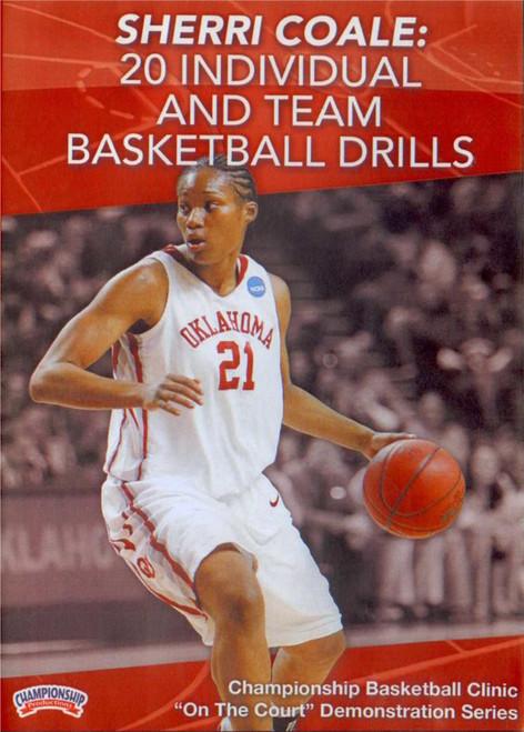 20 Individual & Team Basketball Drills by Sherri Coale Instructional Basketball Coaching Video