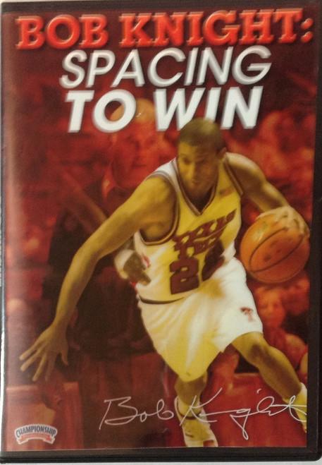 Bob Knight: Spacing To Win by Bob Knight Instructional Basketball Coaching Video