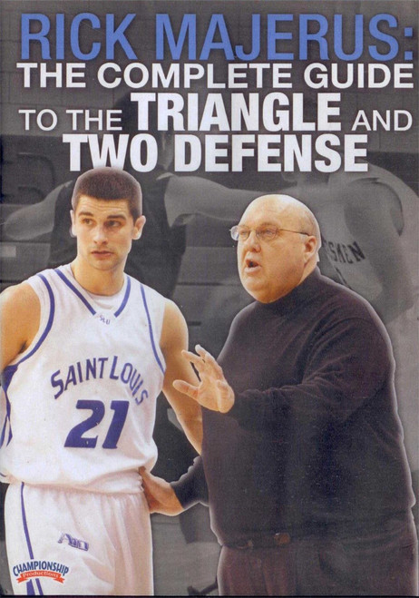 Complete Guide To Triangle & Two Defense by Rick Majerus Instructional Basketball Coaching Video