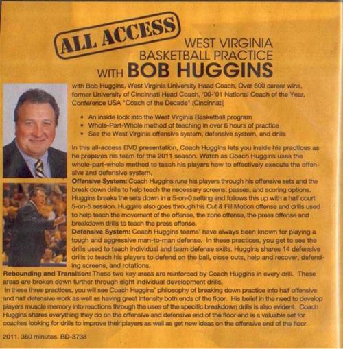 (Rental)-All Access: Bob Huggins