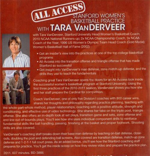 basketball practice plan with Tara Vanderveer
