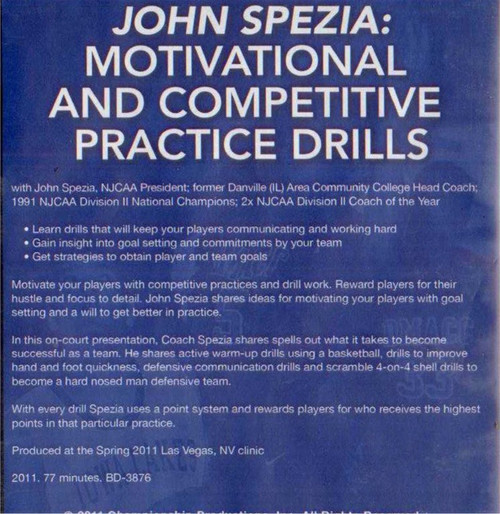 (Rental)-Motivational And Competitive Practice Drills