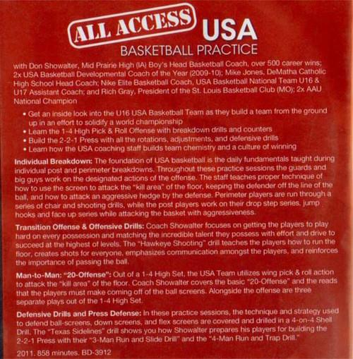 USA Basketball Practice Video