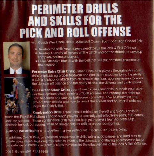 (Rental)-Perimeter Drills And Skills For The Pick And Roll Offense