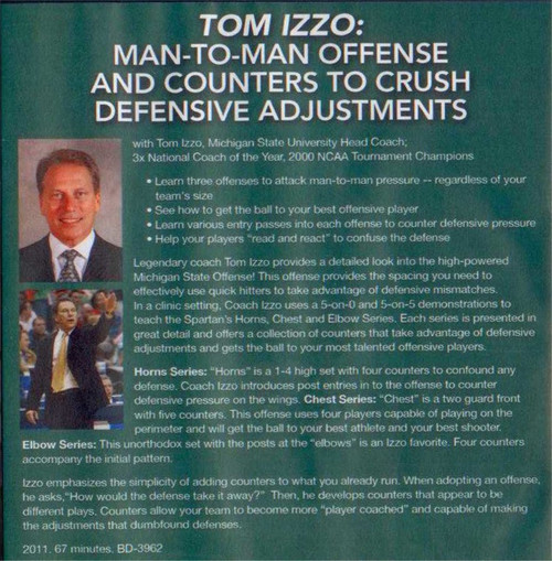 (Rental)-Man--to--man Offense And Counters To Crush Defensive Adjustments