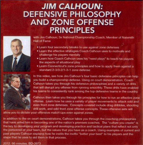 (Rental)-Defensive Philosophy And Zone Offense Principles