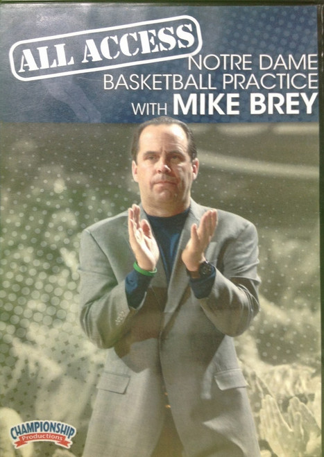 All Access: Mike Brey by Mike Brey Instructional Basketball Coaching Video