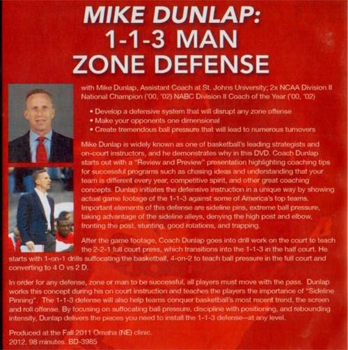 (Rental)-1--1--3 Man Zone Defense