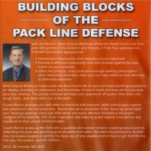 (Rental)-Bulding Blocks Of The Pack Line Defense