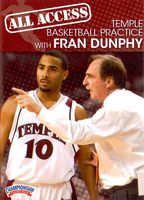 All Access Temple Basketball Practice by Fran Dunphy Instructional Basketball Coaching Video
