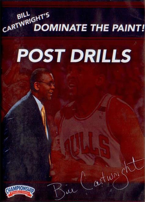 Bill Cartwright Post Drills by Bill Cartwright Instructional Basketball Coaching Video