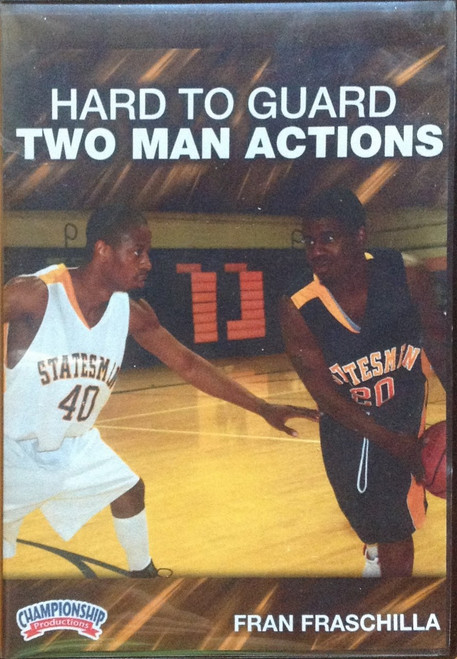 Hard To Guard Two Man Actions by Fran Fraschilla Instructional Basketball Coaching Video