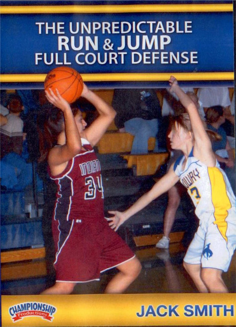 Unpredictable Run N Jump Defense by Jack Smith Instructional Basketball Coaching Video