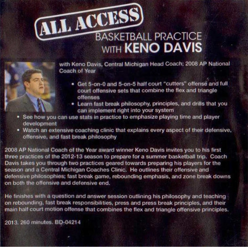 Basketball Practice Plan with Keno Davis and Template