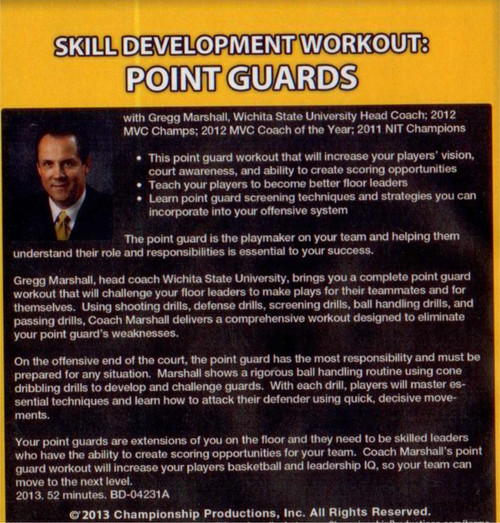 (Rental)-Skill Development Workout: Point Guards