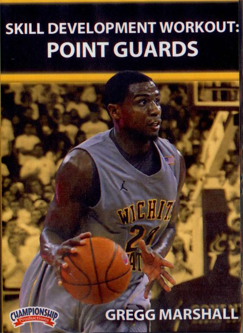 Skill Development Workout: Point Guards by Gregg Marshall Instructional Basketball Coaching Video