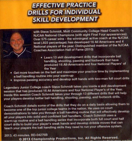 (Rental)-Effective Practice Drills For Skill Development