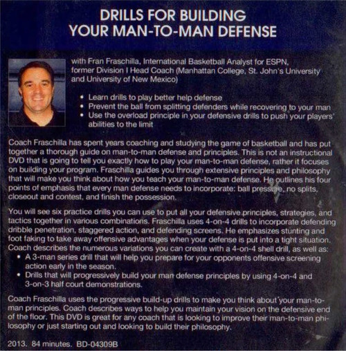 (Rental)-Drills For Building Your Man To Man Defense