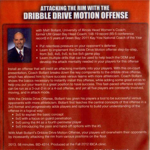 Dribble Drive Motion Offense DVD for Rent
