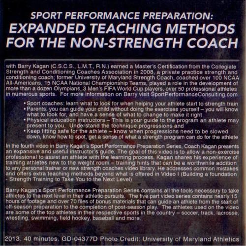 (Rental)-Expanded Teaching Methods For The Non-strength Coach