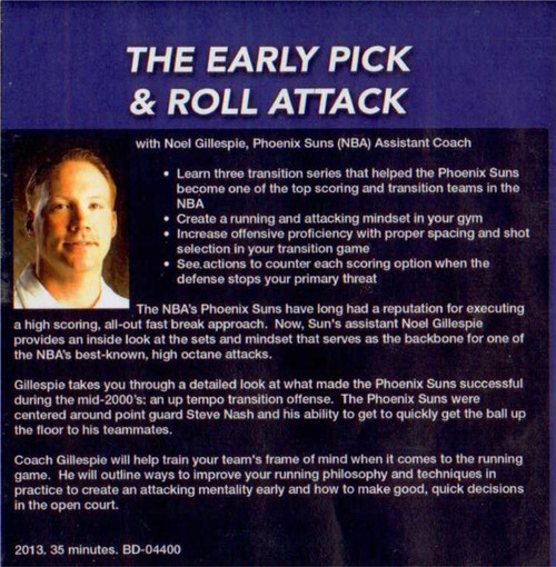 (Rental)-Early Pick & Roll Attack
