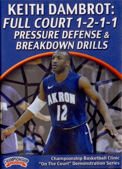 Full Court 1-2-1-1 Pressure Defense & Drills by Keith Dambrot Instructional Basketball Coaching Video