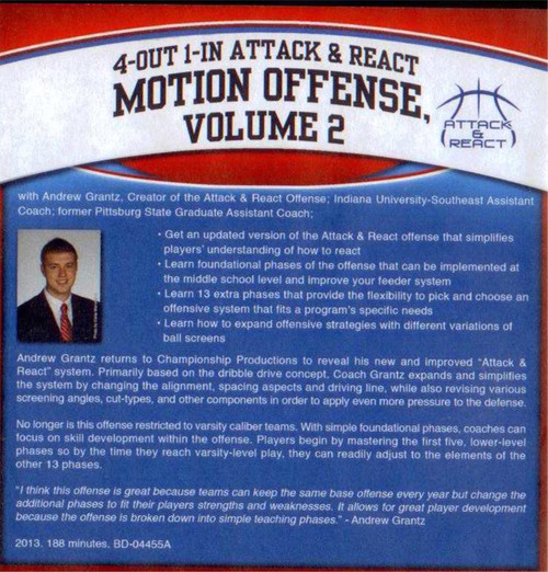 Attack and React Offense Volume 2 Andrew Grantz