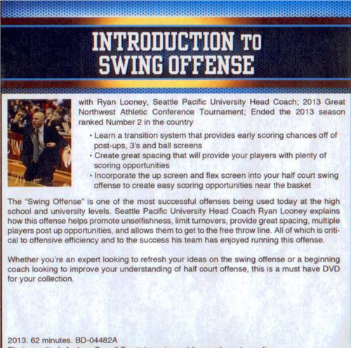 (Rental)-Introduction To Swing Offense