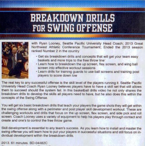 (Rental)-Breakdown Drills For Swing Offense