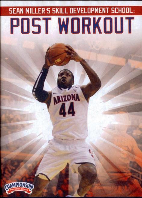 Sean Miller's Skills School: Post Workout by Sean Miller Instructional Basketball Coaching Video
