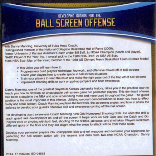 (Rental)-Developing Guards For The Ball Screen Offense