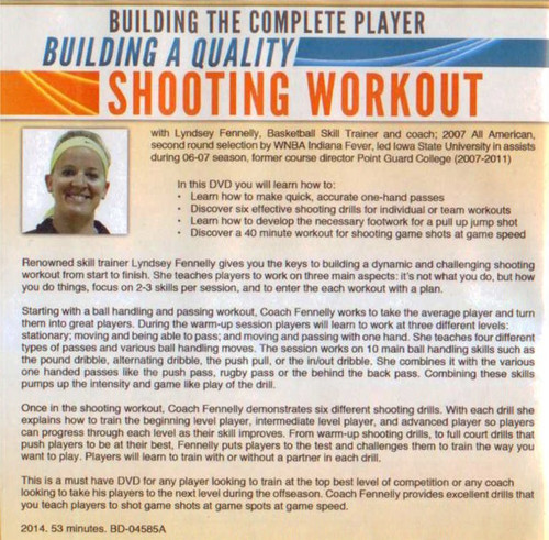 (Rental)-Building A Quality Shooting Workout