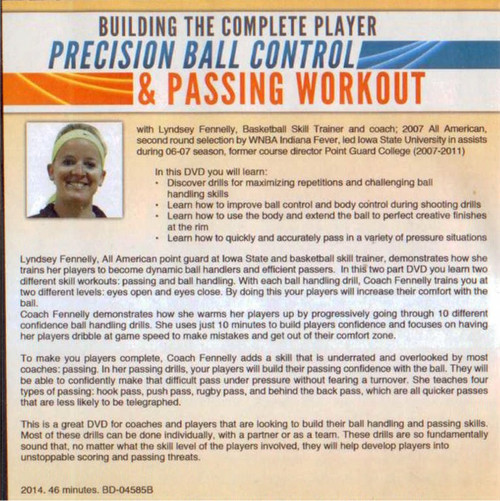 (Rental)-Precision Ball Control & Passing Workout