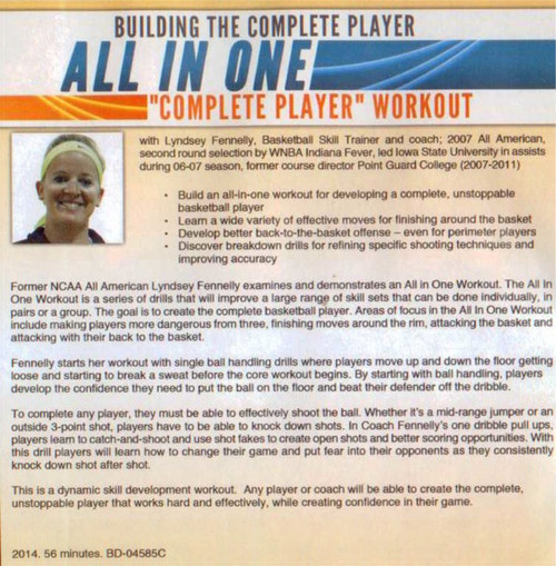 (Rental)-Building The Complete Player Workout