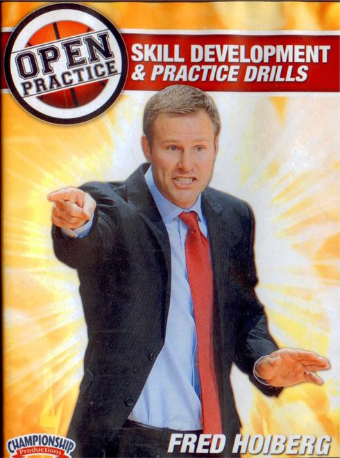 Fred Hoiberg Open Practice: Skill Development & Practice Drills by Fred Hoiberg Instructional Basketball Coaching Video
