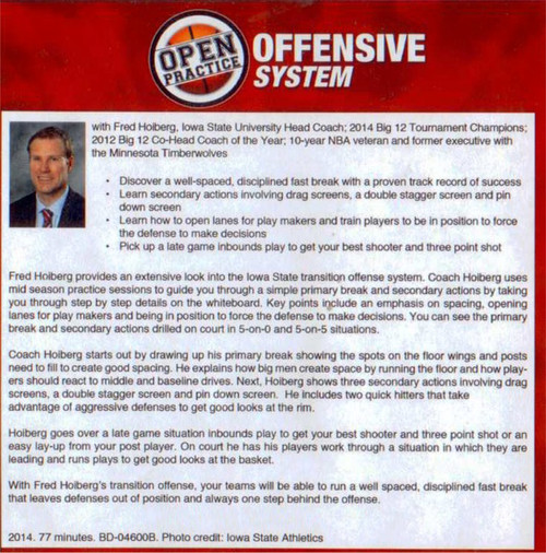 Basketball Offensive System with Fred Hoiberg