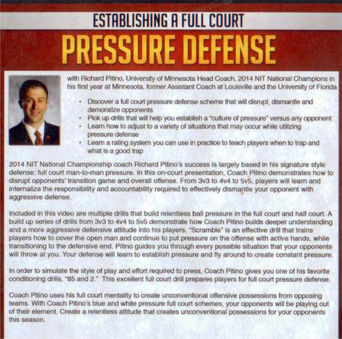 (Rental)-Establishing A Full Court Pressure Defense