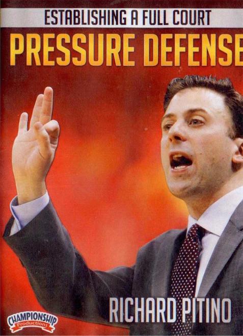 Establishing A Full Court Pressure Defense by Richard Pitino Instructional Basketball Coaching Video