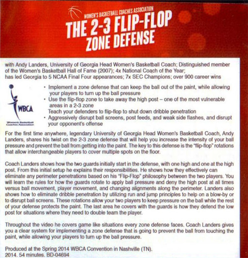 (Rental)-2-3 Flip Flop Zone Defense