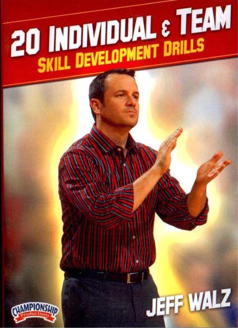 20 Individual & Team Skill Development Drills by Jeff Walz Instructional Basketball Coaching Video