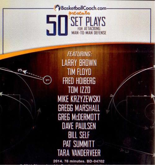 (Rental)-50 Set Plays For Attacking Man To Man Defense
