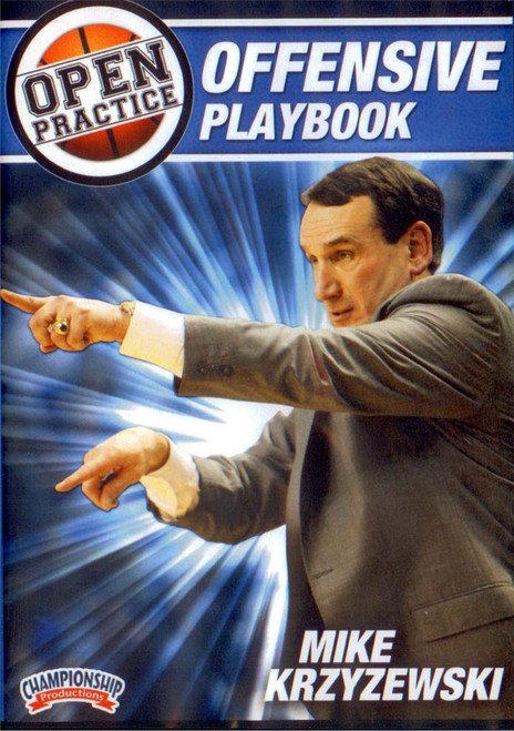 Mike Krzyzewski Open Practice: Offensive Playbook by Mike Krzyzewski Instructional Basketball Coaching Video