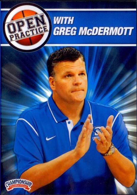 Open Practice With Greg Mcdermott by Greg McDermott Instructional Basketball Coaching Video