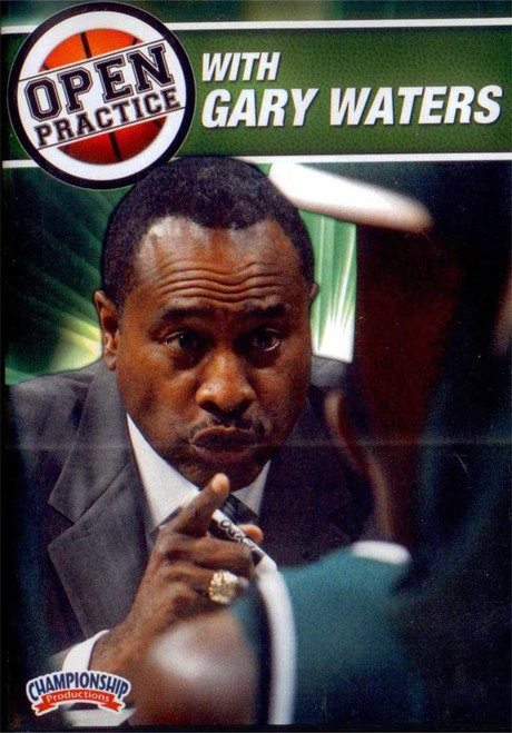 Open Practice With Gary Waters by Gary Waters Instructional Basketball Coaching Video