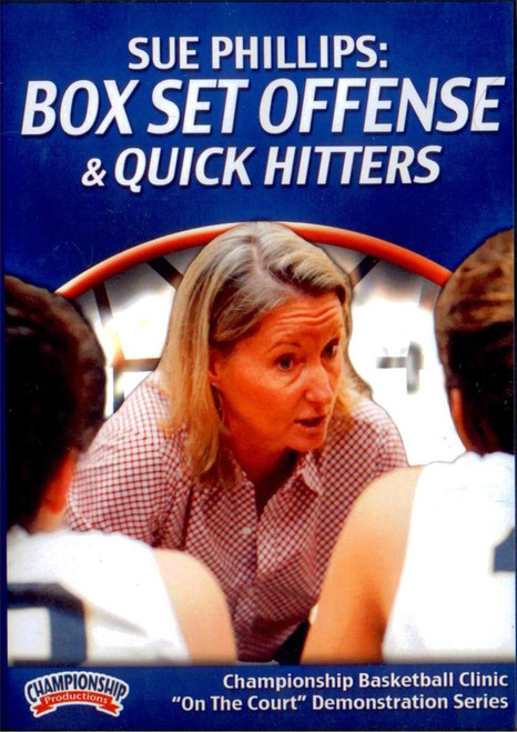 Box Set Offense & Quick Hitters by Sue Phillips Instructional Basketball Coaching Video