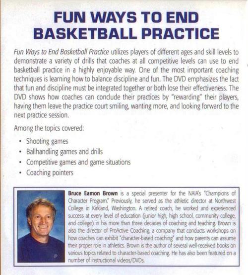 (Rental)-Fun Ways To End Basketball Practice