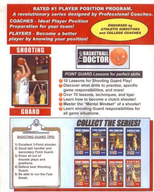(Rental)-Shooting Guard: Roles & Responsibilities