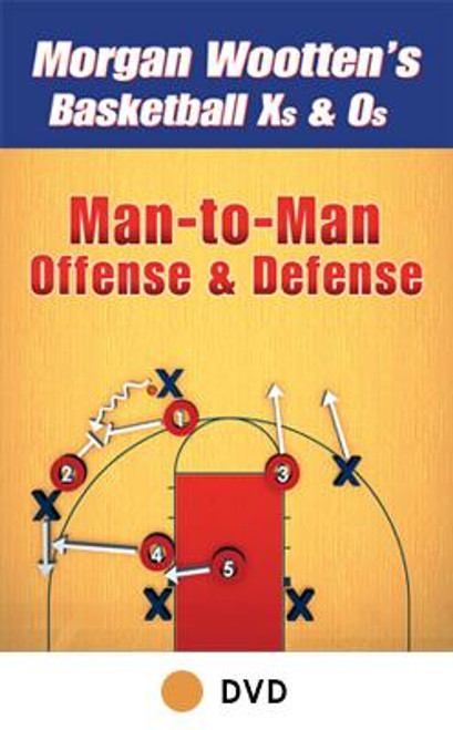 Man To Man Offense & Defense by Morgan Wootten Instructional Basketball Coaching Video