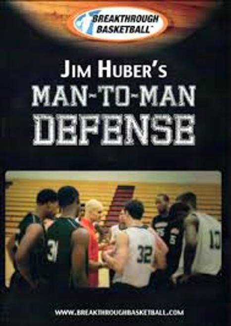 Man To Man Defense With Jim Huber by Jim Huber Instructional Basketball Coaching Video